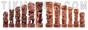 Tiki Chess Set